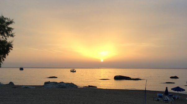 Sonnenaufgang, Foto: Ulla Fuesser